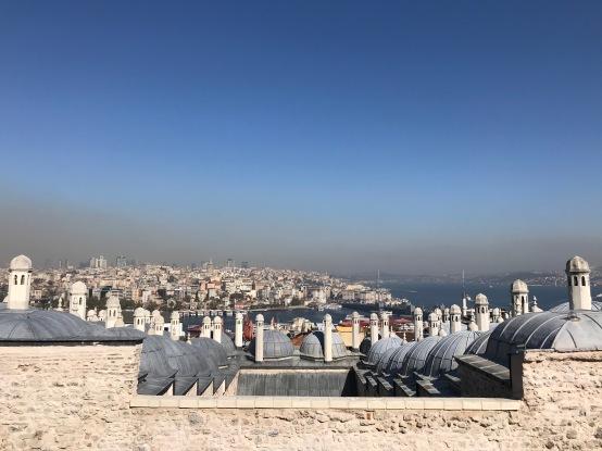 Vistas desde la Mezquita.