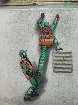graffiti Stavanger sweepers