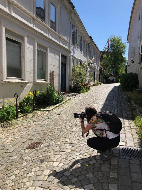 Daniela Fotografiando
