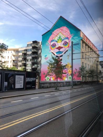 Los graffitis impresionantes no dejan de asombrarme!!