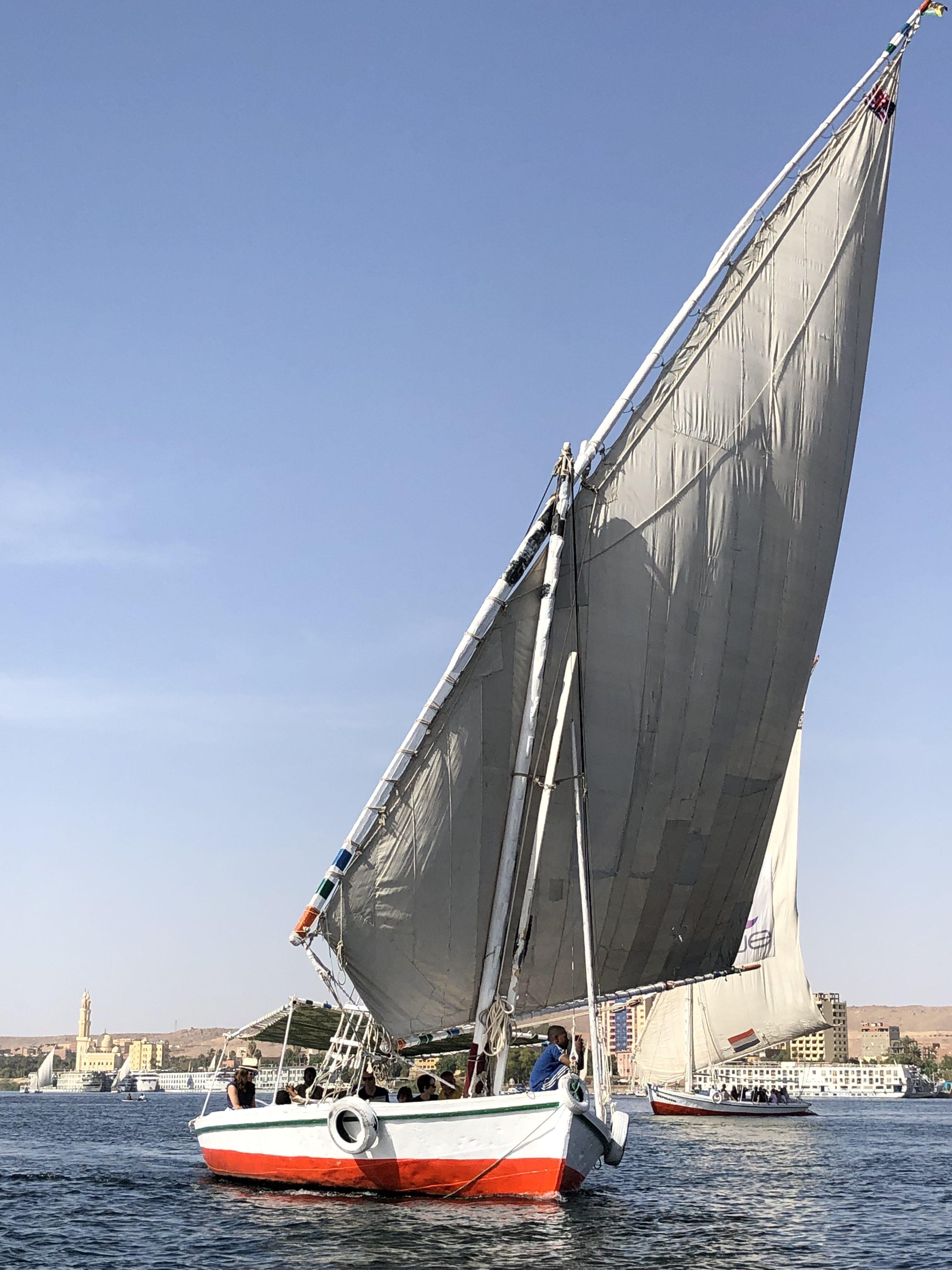 Faluca rio Nilo 10 sitios imperdibles